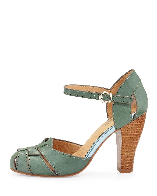 03b43419d969 Lyst - Seychelles Get Loud Leather Sandal in Blue