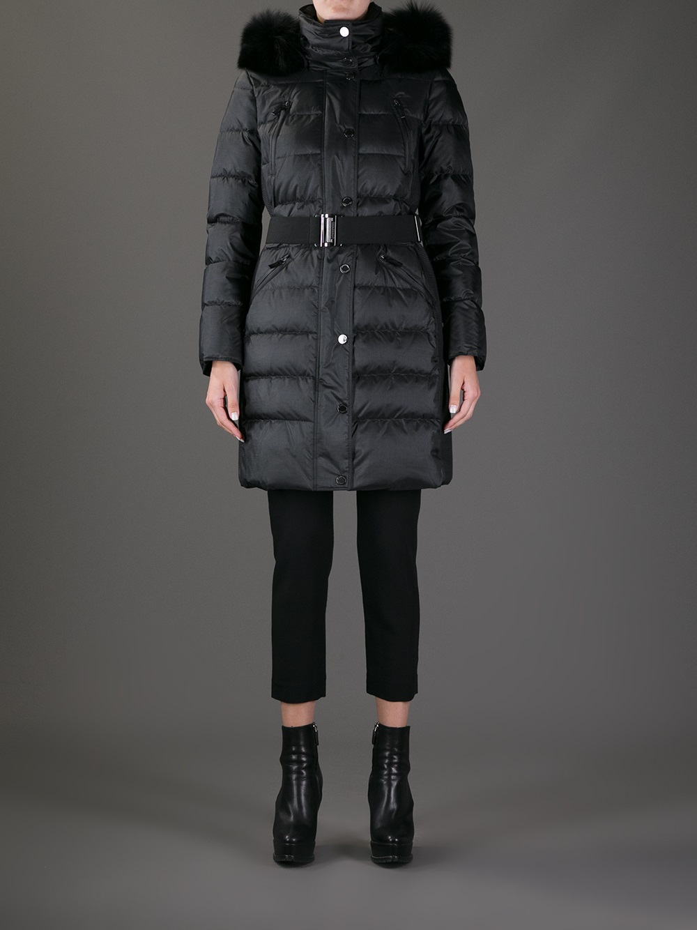 release date quality products fast delivery Burberry Abingerf Padded Coat in Black - Lyst