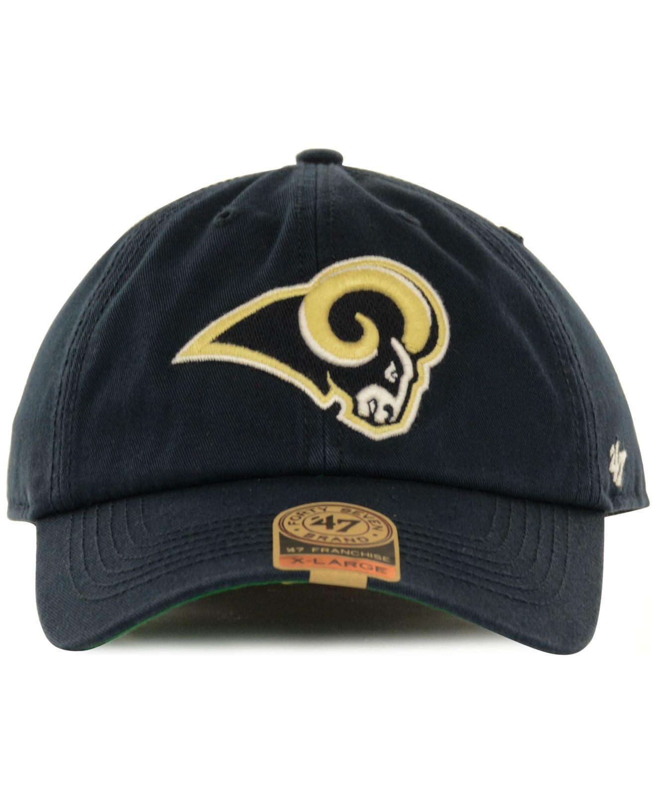 408822d63da Lyst - 47 Brand St. Louis Rams Franchise Hat in Blue for Men