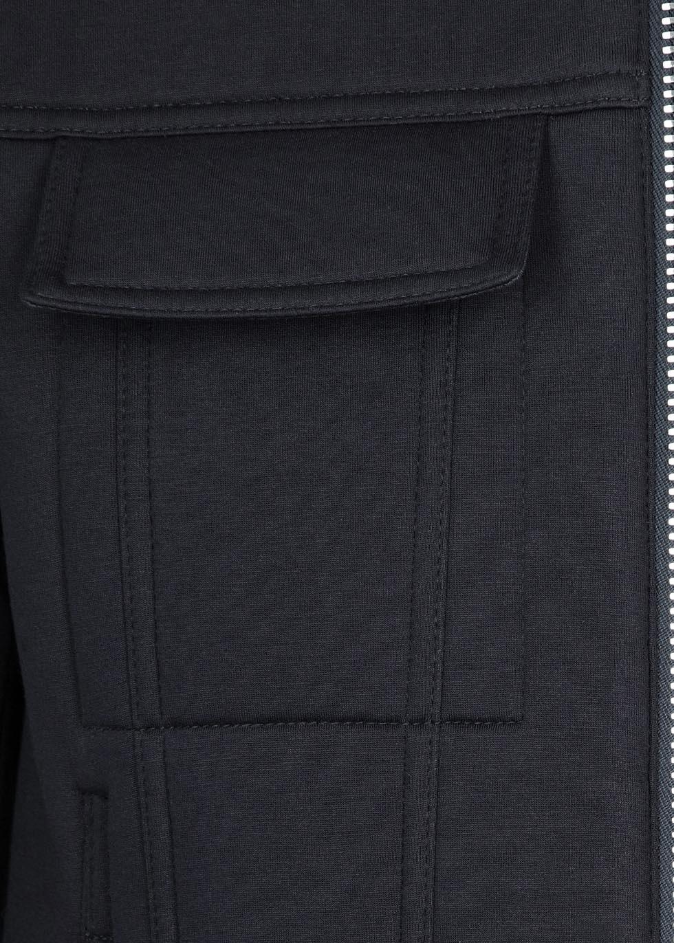 Neil Barrett Navy Neoprene Harrington Jacket in Blue for Men