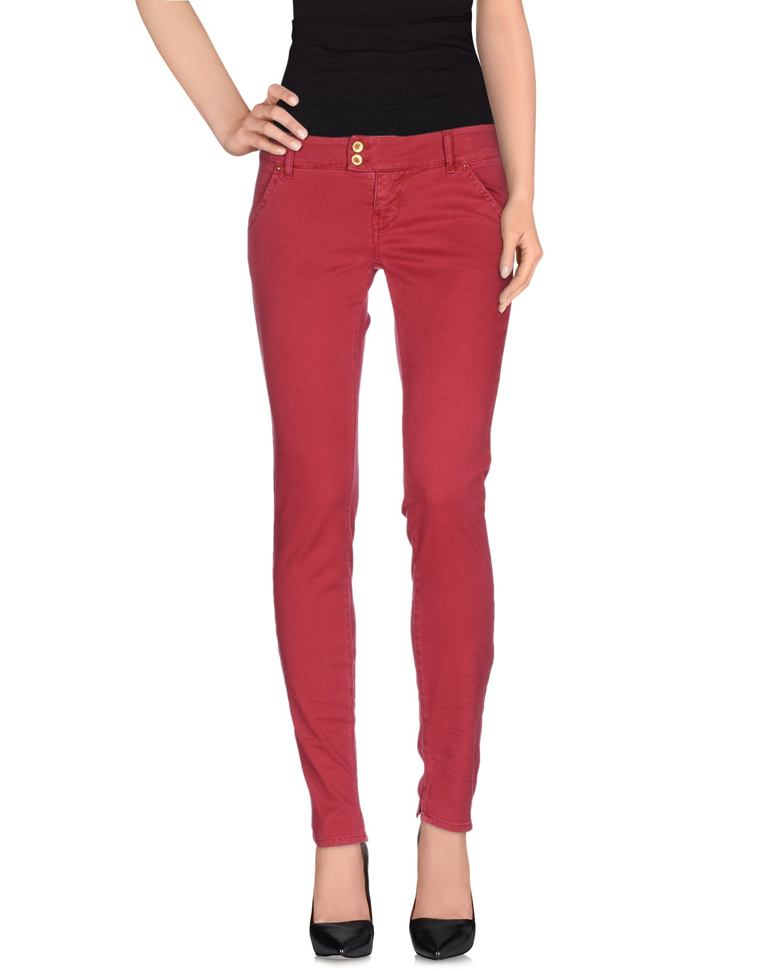 Amazing Cycle Casual Trouser In Red Maroon  Save 58  Lyst