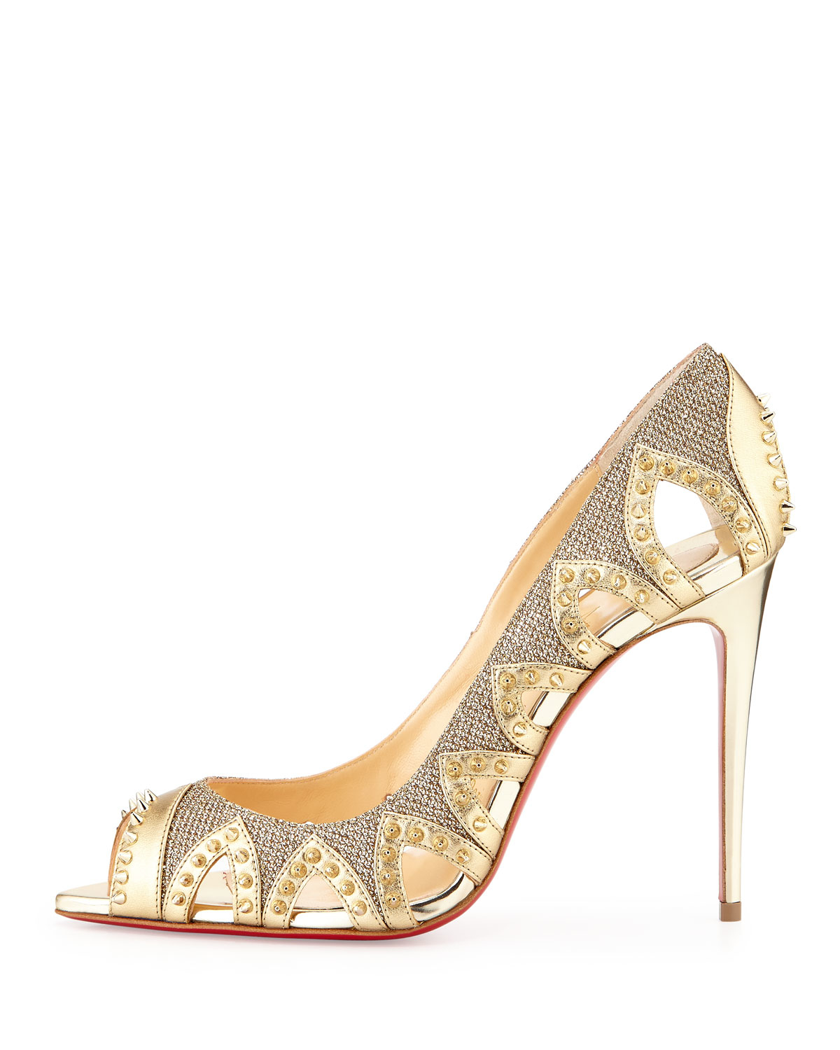 louboutin.com shoes - christian louboutin circus cut-out ankle boots, christian ...