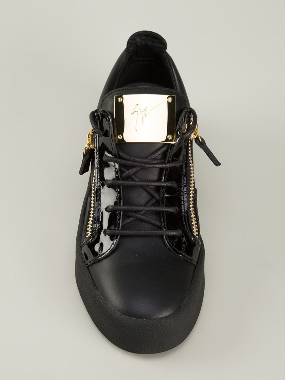 Giuseppe Zanotti Low tops amp Trainers In Black For Men Lyst