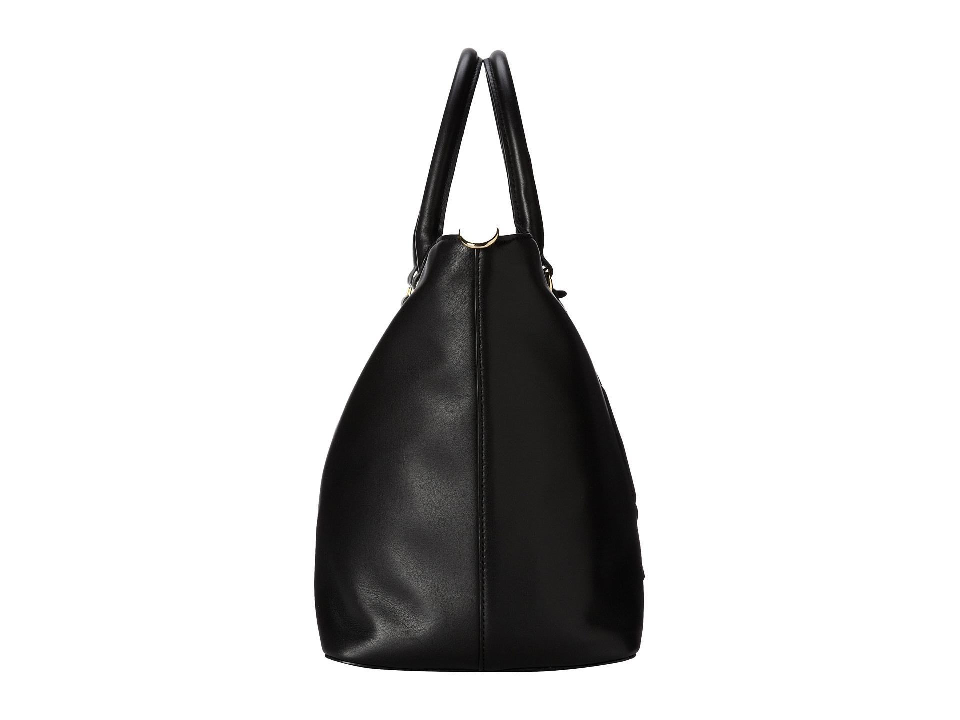 Lyst - Lauren by Ralph Lauren Victoria Convertible Tote in Black 312a7553a7