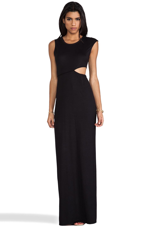 39ab171ec602 Gallery. Bcbgmaxazria Bcbgeneration Side Cutout Maxi Dress In Black Lyst ...