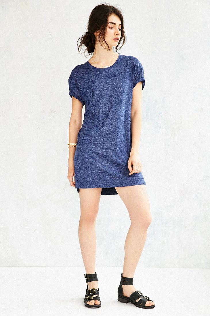 Lyst Bdg Estelle Boyfriend T Shirt Dress In Blue