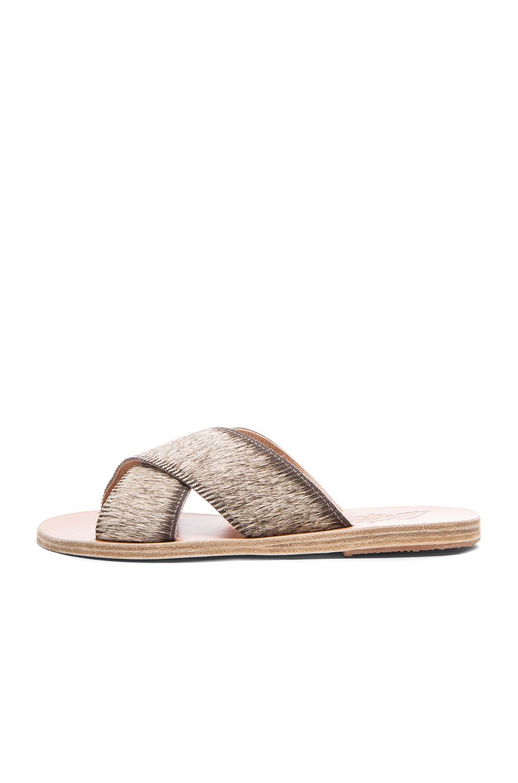 Ancient Greek Sandals Thais Pony Sandals in . AbzHd