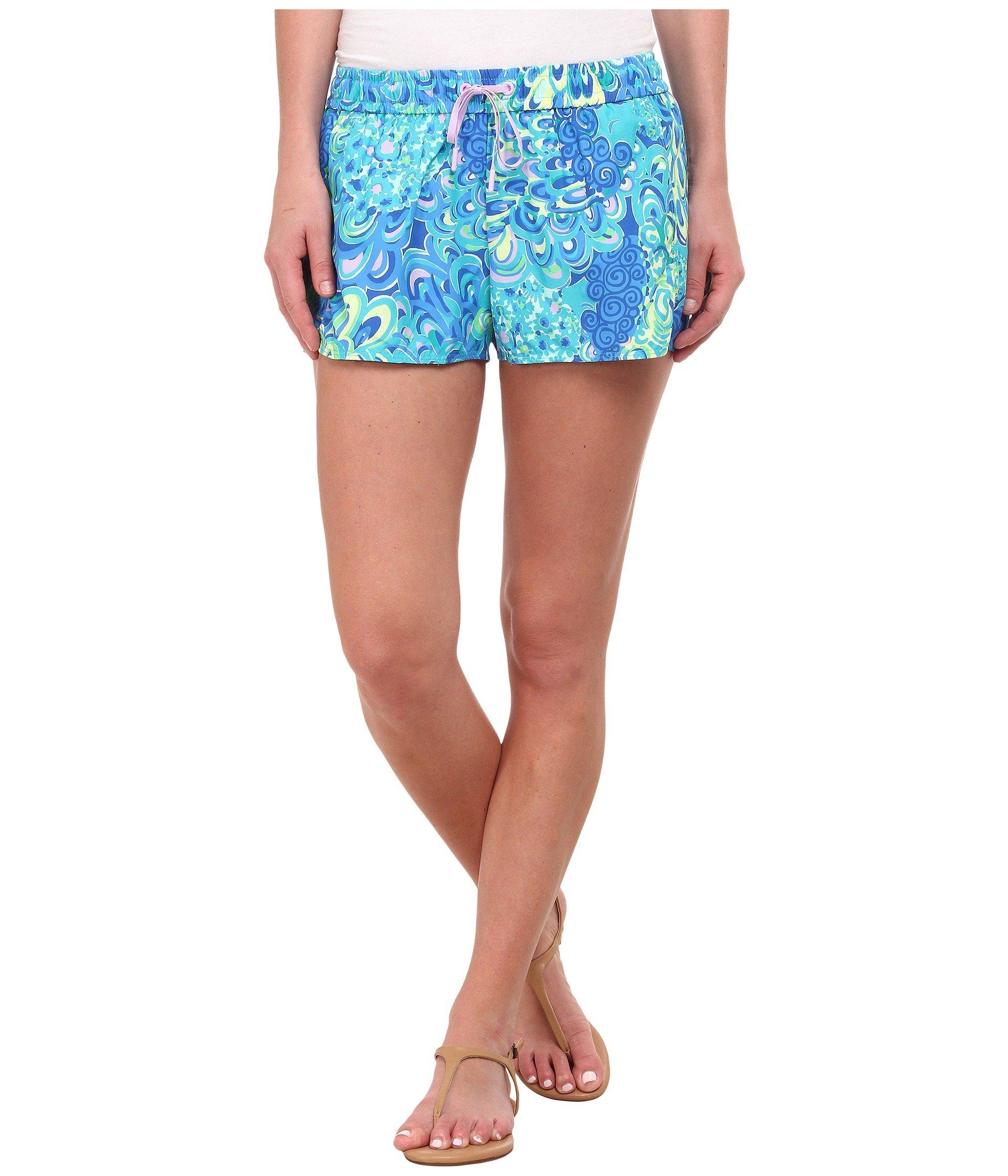 41351626eb3b09 Lilly Pulitzer Run Around Shorts in Blue - Lyst
