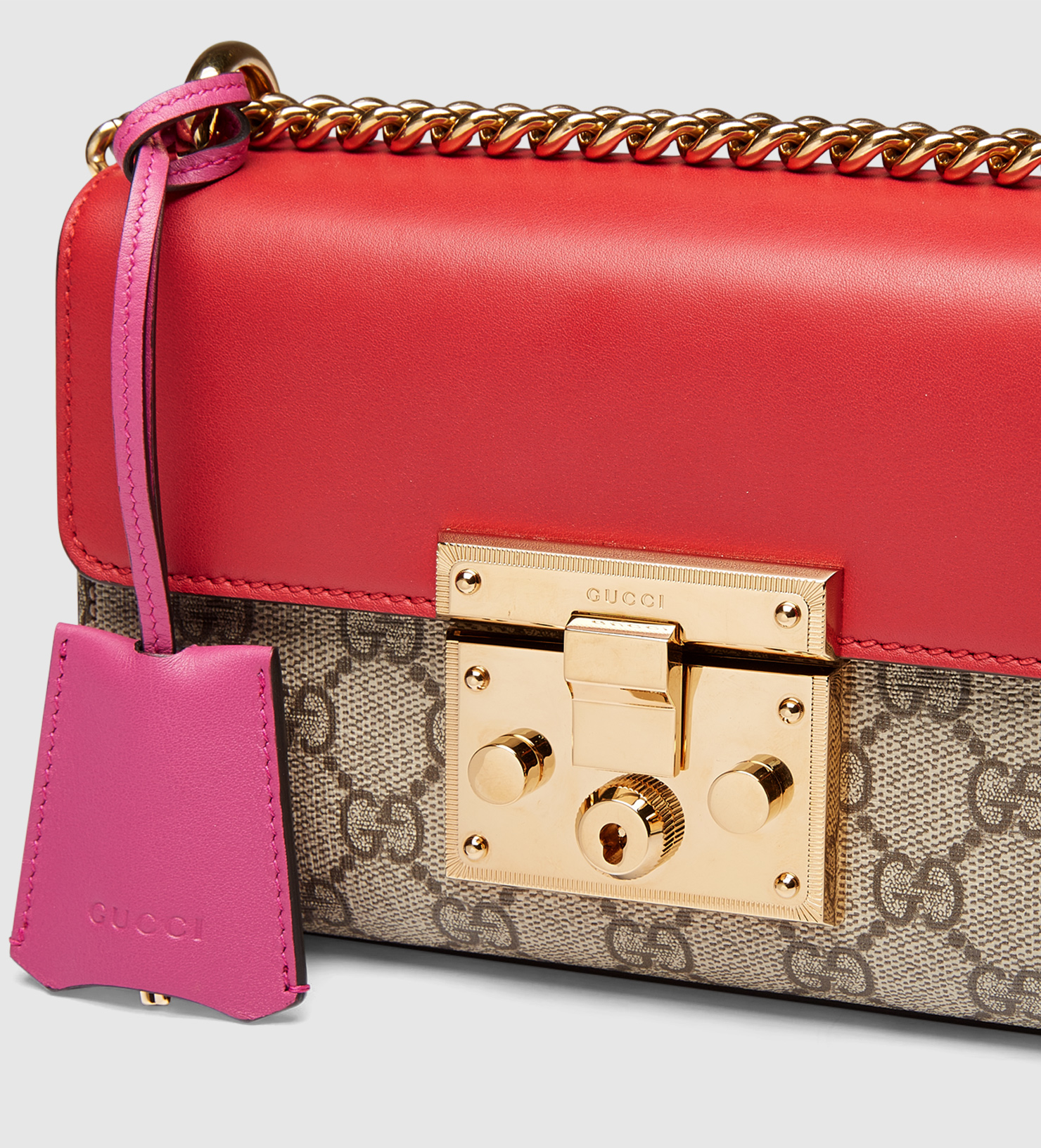 f21b59a8f76 Lyst - Gucci Padlock Gg Supreme Shoulder Bag