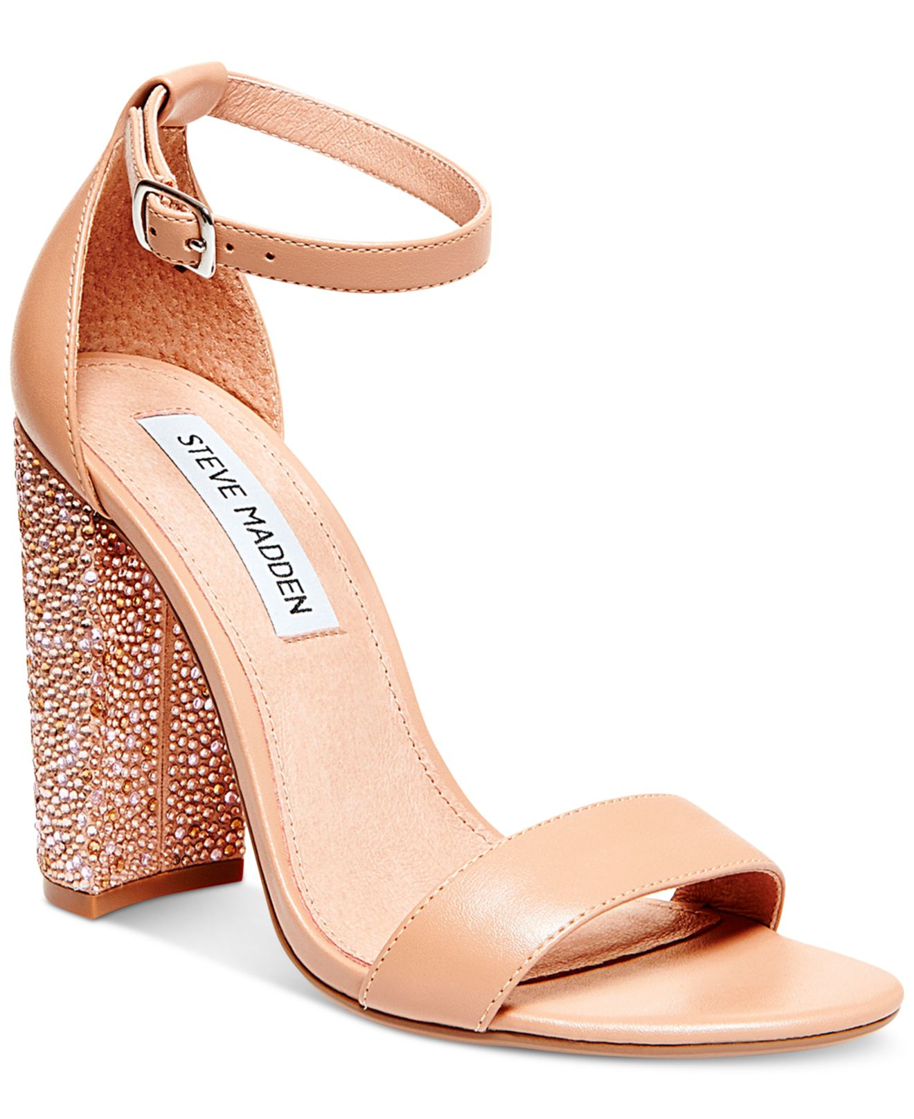 bbccaaa59dfe Lyst - Steve Madden Women s Carson-r Ankle Strap Sandals in Pink