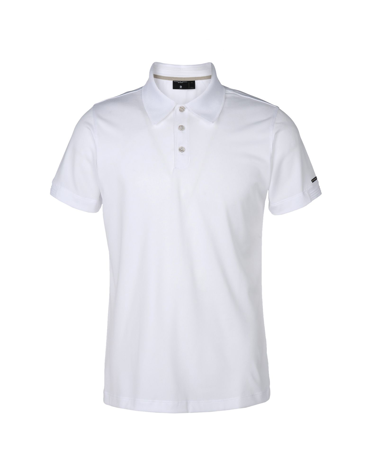 Porsche design sport by adidas polo shirt in white for men for Polo t shirt design images