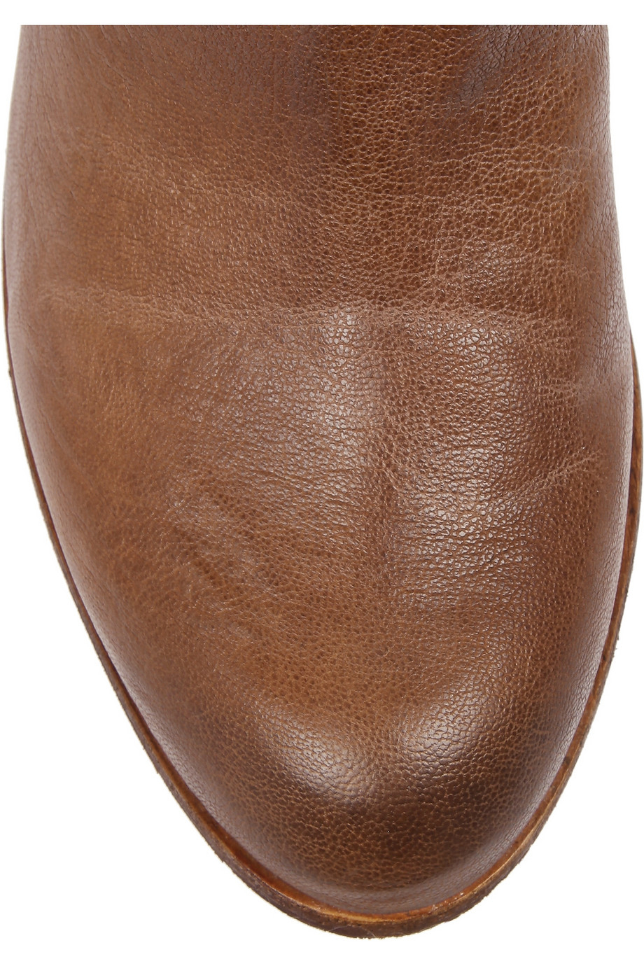 6531a00d2 Sam Edelman James Leather Boots in Brown - Lyst