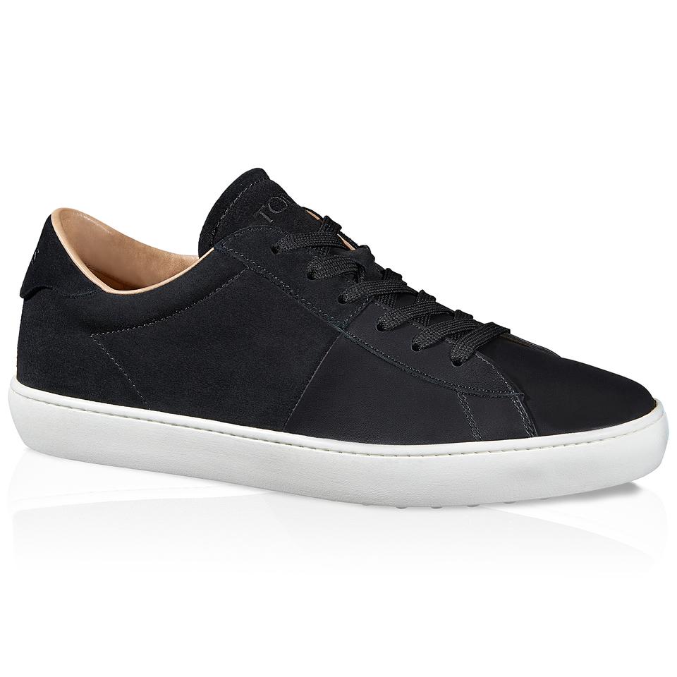 Topman Black Suede Shoes