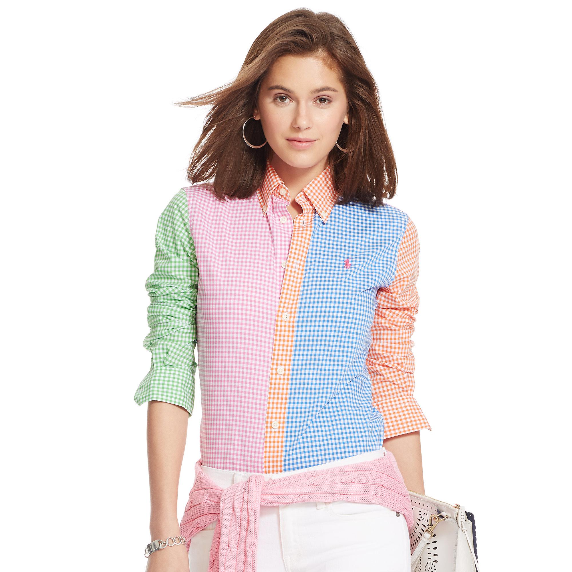 2d300bef503 Polo Ralph Lauren Multicolor Custom-fit Gingham Shirt
