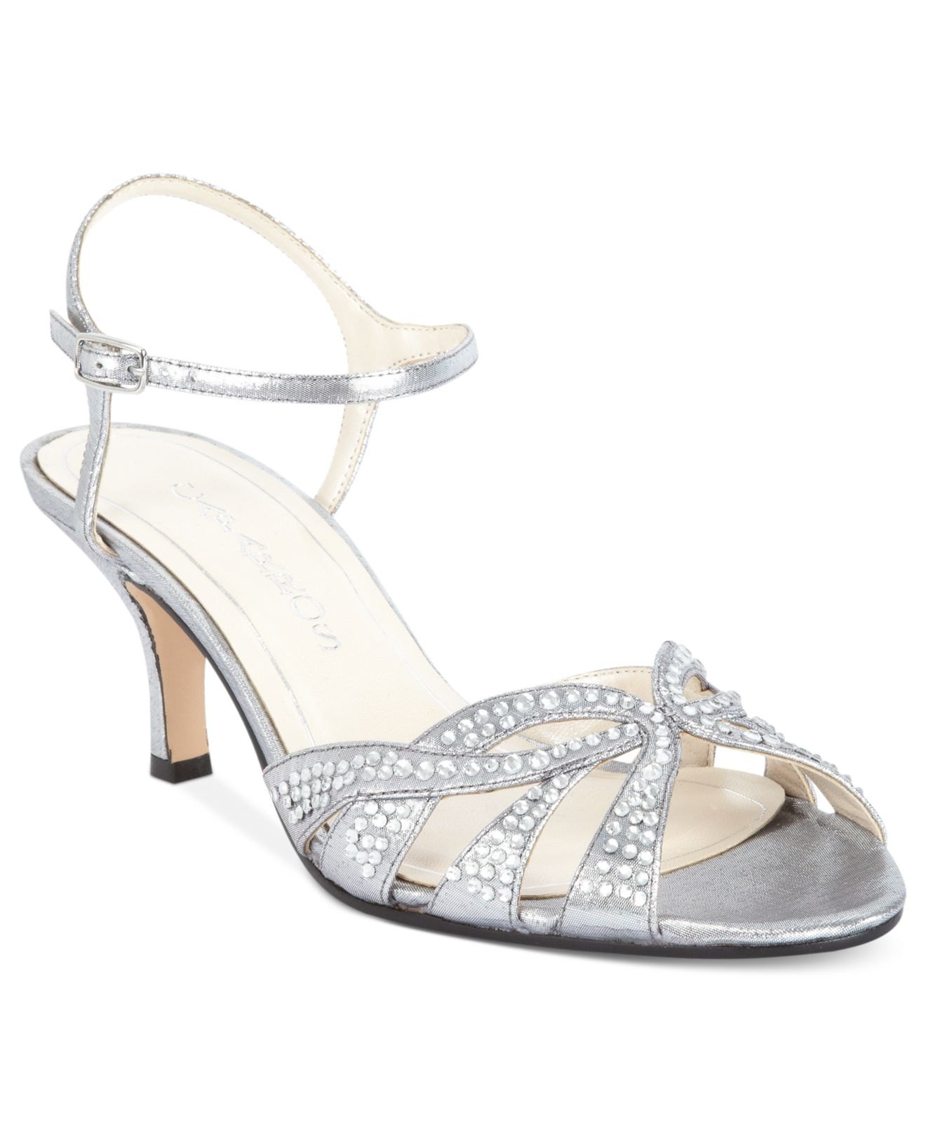 Caparros Wedding Shoes Silver