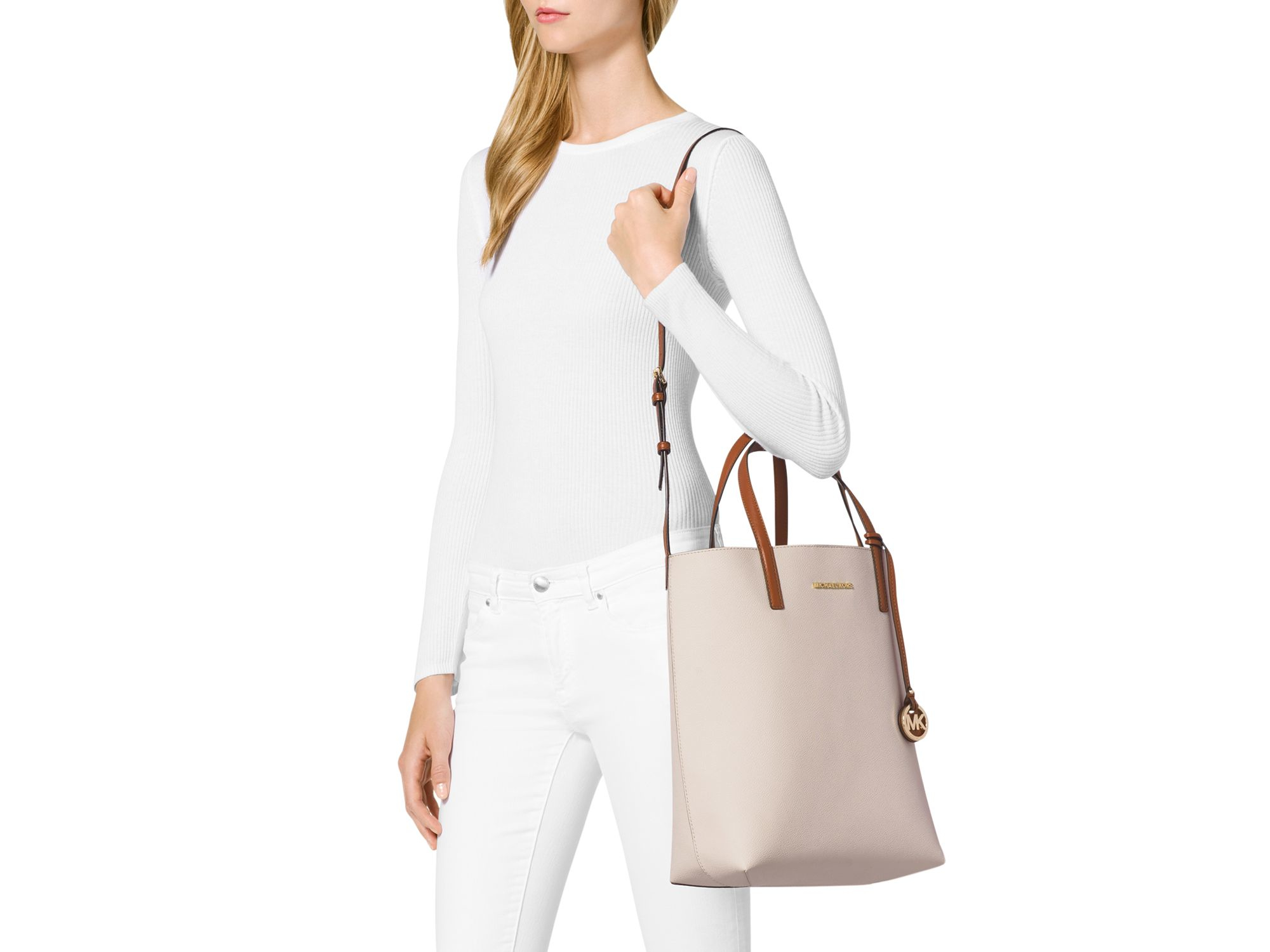 3bbdabe3b51c Gallery. Previously sold at  Bloomingdale s · Women s Michael Kors Hayley  ...