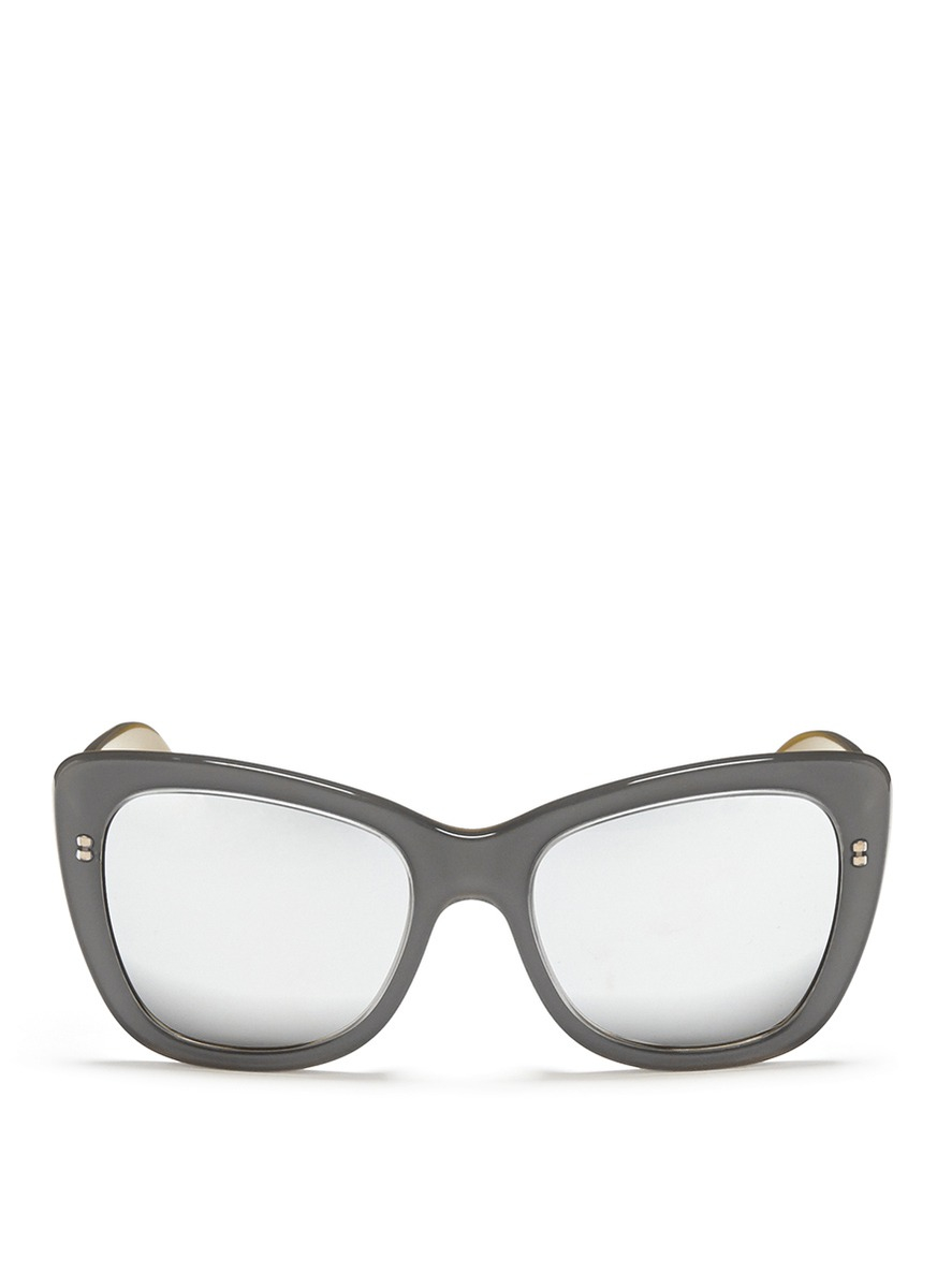 Reverse Cat Eye Sunglasses
