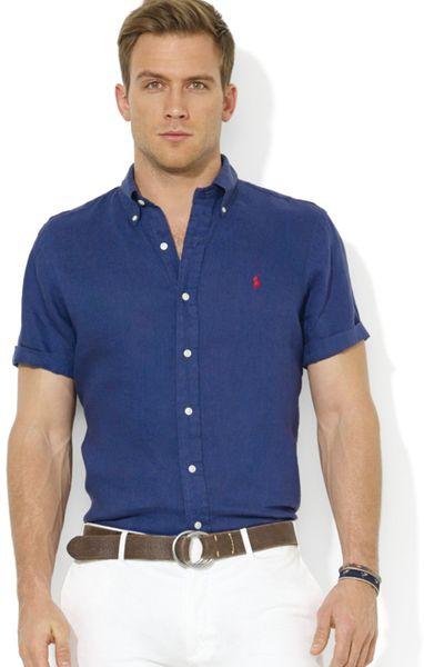Ralph Lauren Polo Button Down Short Sleeve Sport Shirt