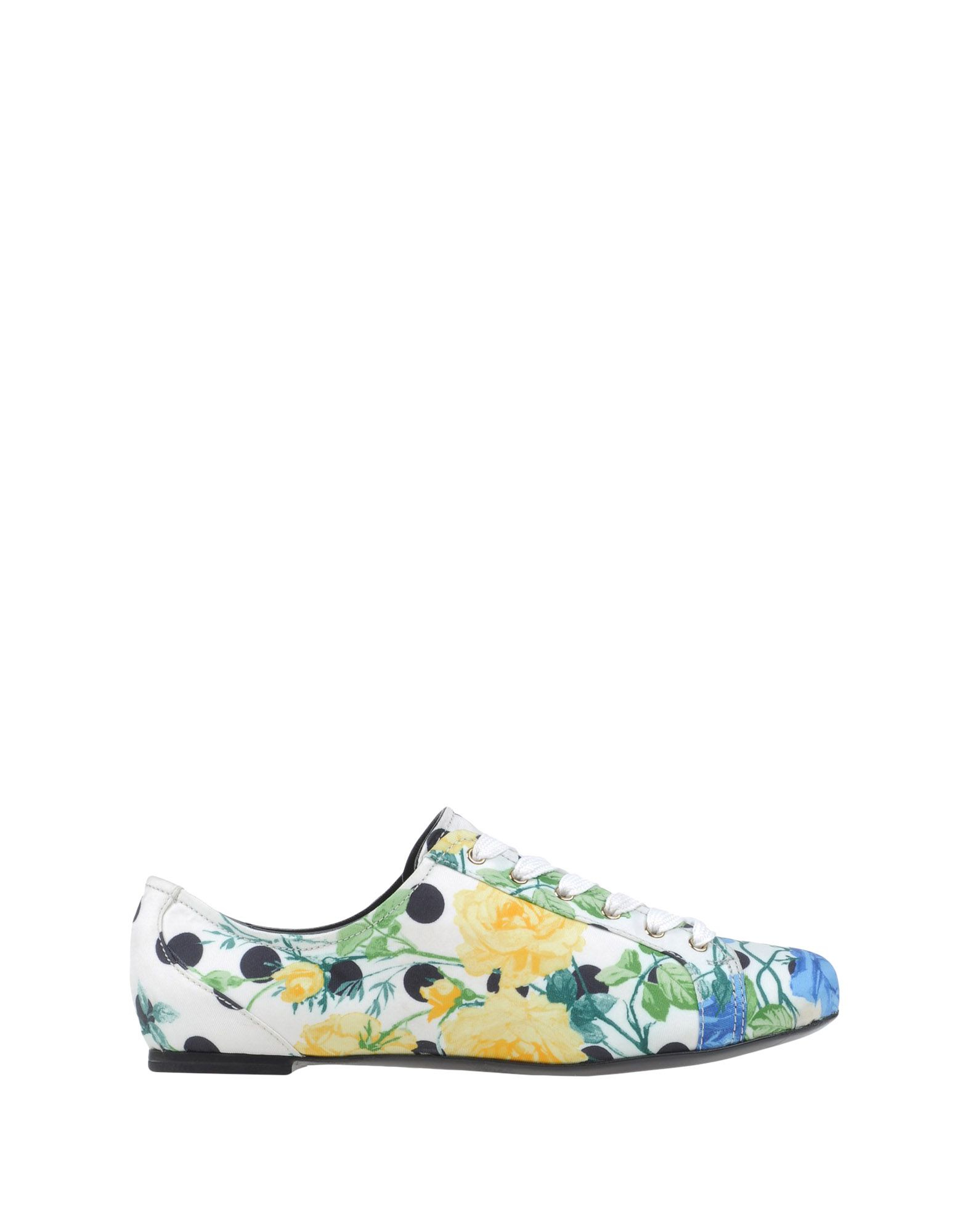 dolce gabbana lace up shoes in white lyst