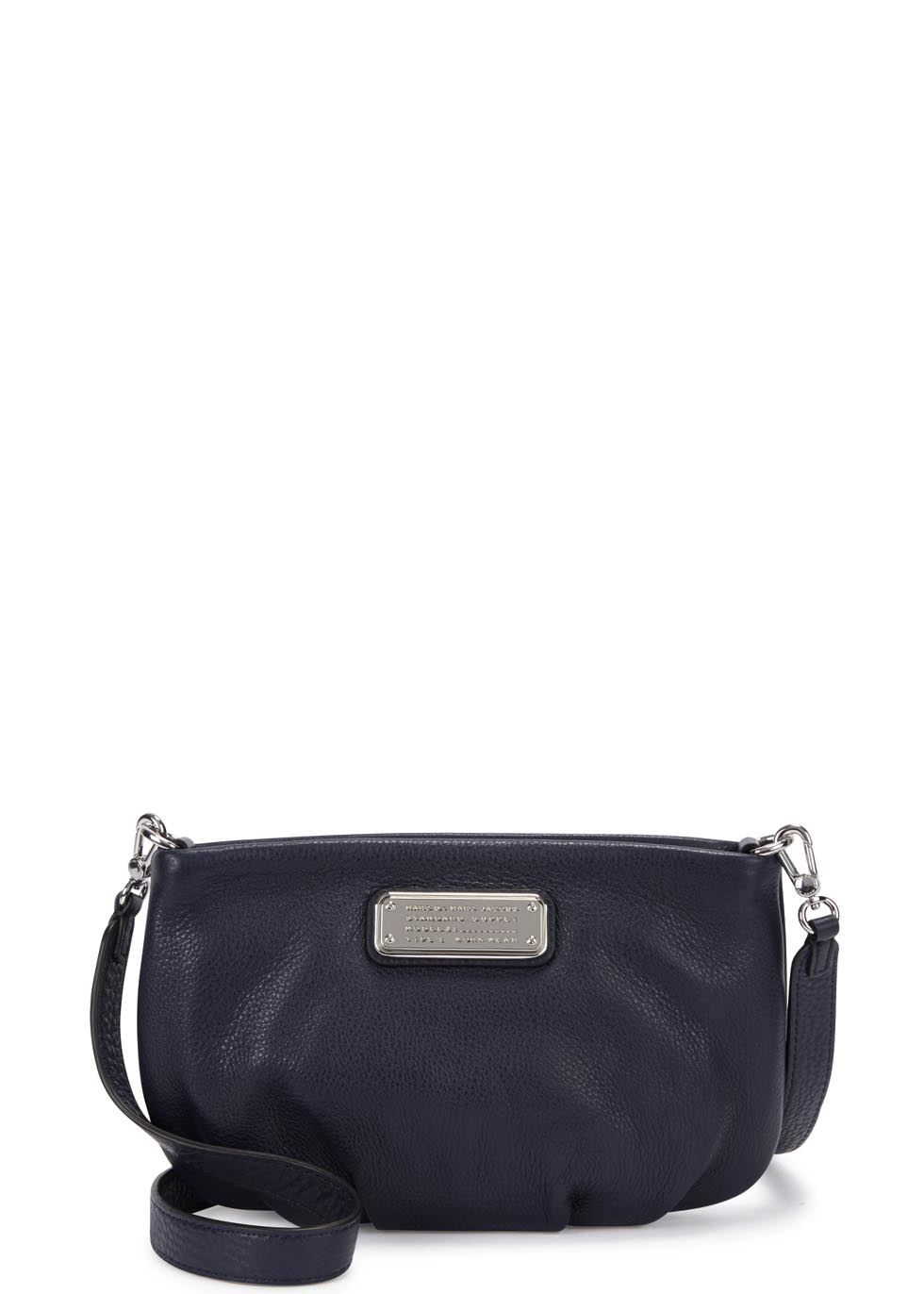 06a44f5286 Marc By Marc Jacobs New Q Percy Navy Leather Cross-body Bag in Blue - Lyst