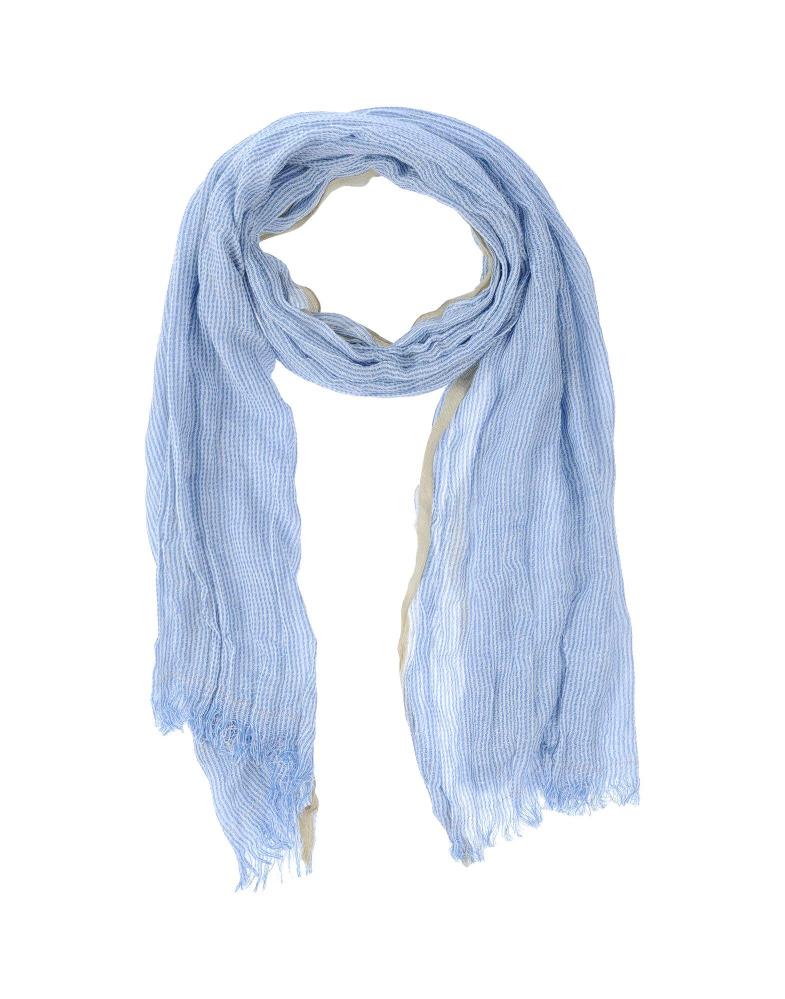 scotch soda oblong scarf in blue for sky blue lyst