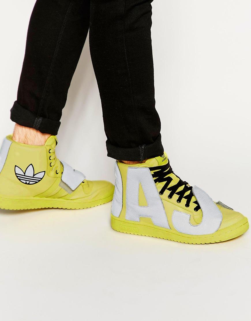 adidas jeremy scott letters shoes