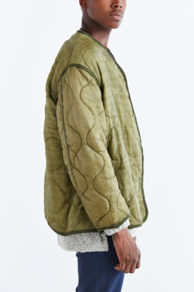 Lyst - Urban renewal Vintage Quilted Liner Jacket in Green for Men : quilted liner - Adamdwight.com