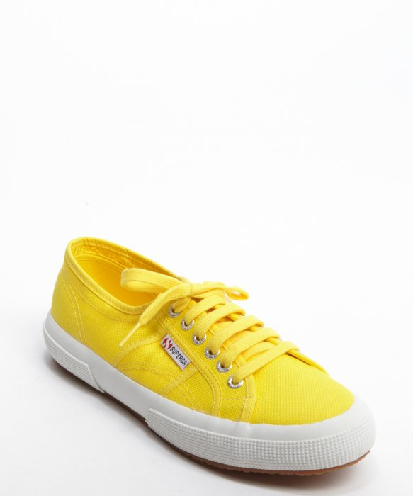 Get To Buy Cheap Online Limited Edition Sale Online classic lace-up sneakers - Yellow & Orange Superga Official Sale Online 2i3vl