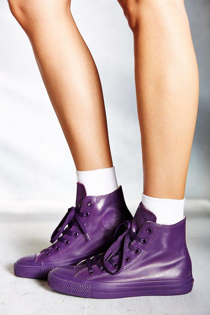 Converse Chuck Taylor All Star Berry Rubber High Top Women