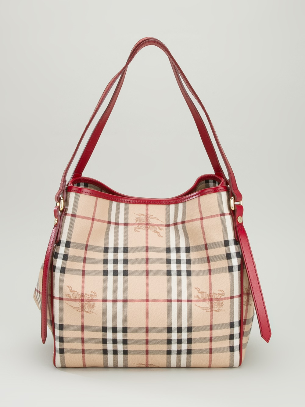 Burberry Small Tote in Red