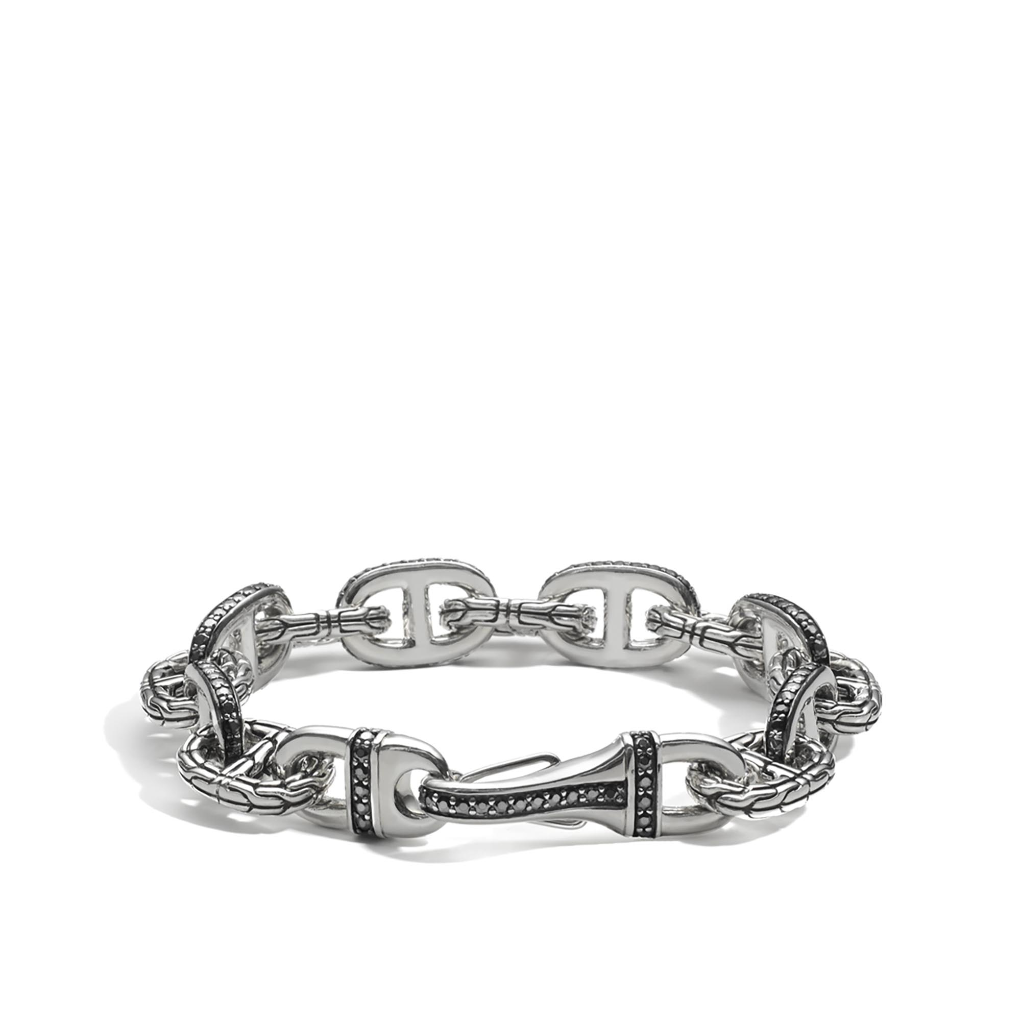 John Hardy Classic Chain Hammered Link Bracelet S jEM5A2CD