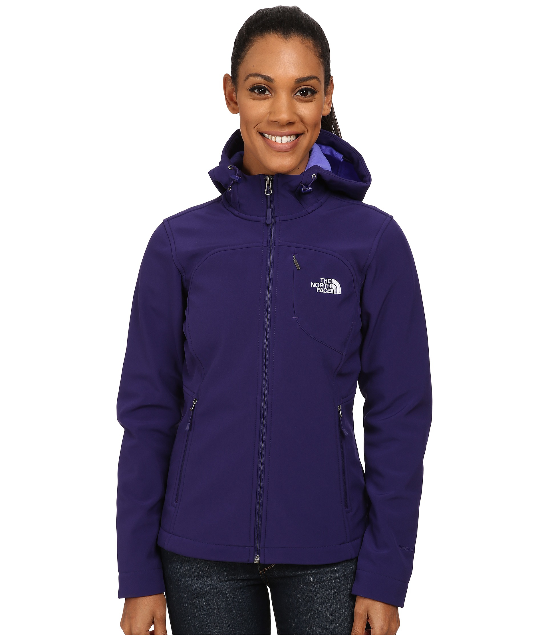 cf9085d1394 Lyst - The North Face Apex Bionic Hoodie in Purple