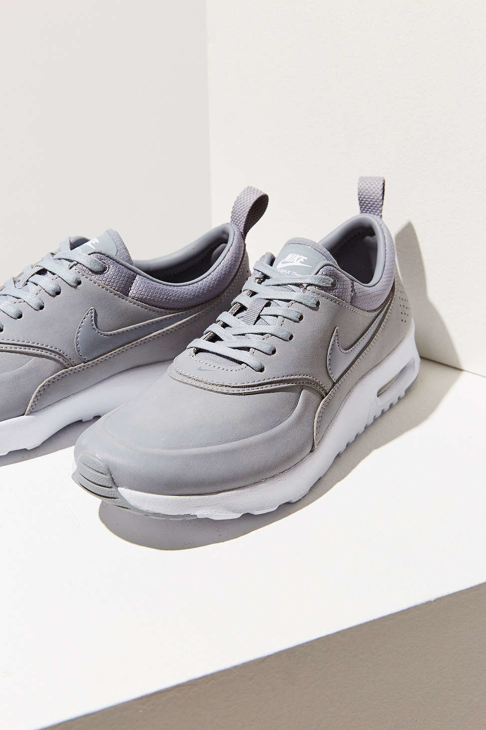 nike air max thea premium sneaker in gray lyst. Black Bedroom Furniture Sets. Home Design Ideas