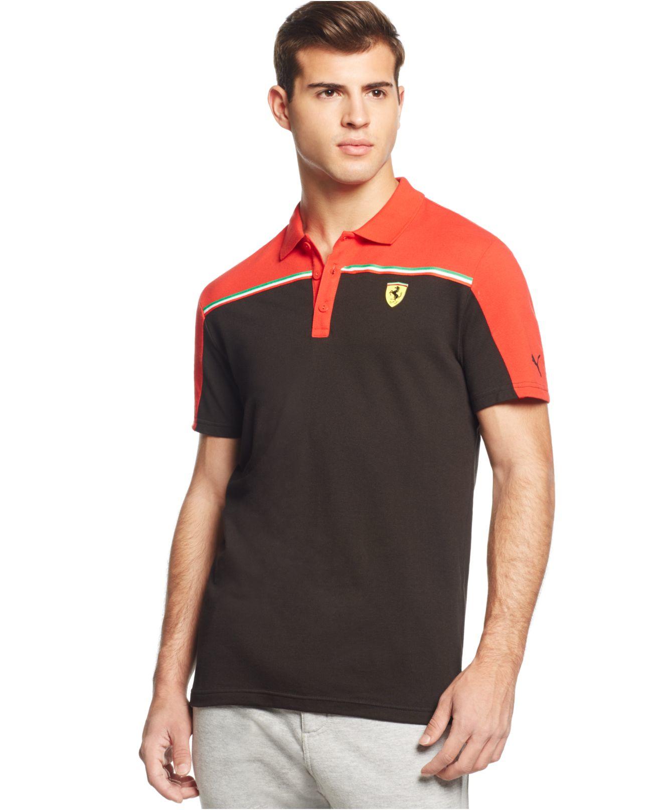 puma night moonless shoplifestyle polo ferrari products shirt mens