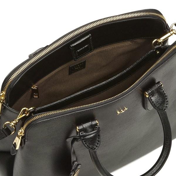 9fcedd2768a Lauren by Ralph Lauren Women s Newbury Double Zip Dome Tote Bag in ...