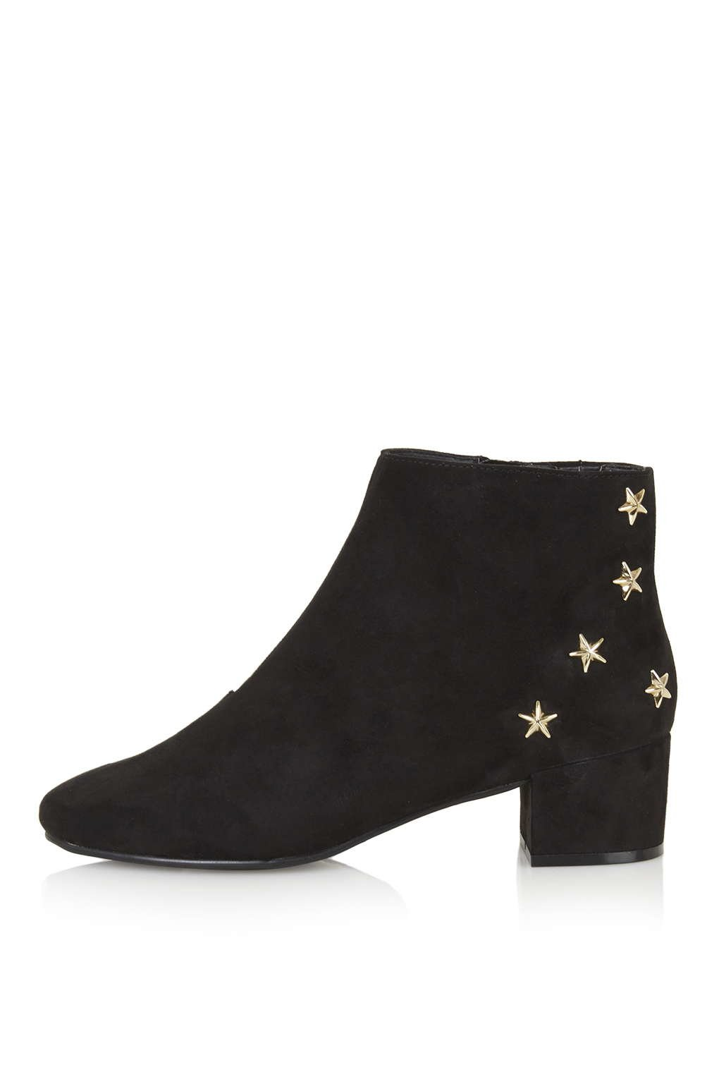 TOPSHOP Betty Star Boots in Black