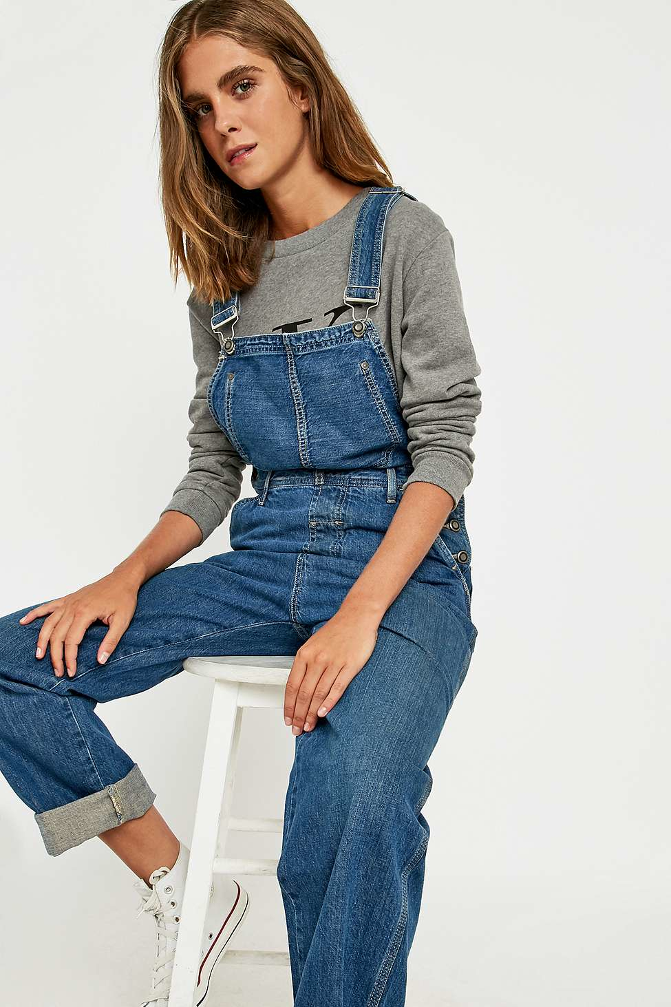 Calvin Klein Blue Jeans Dungarees Lyst