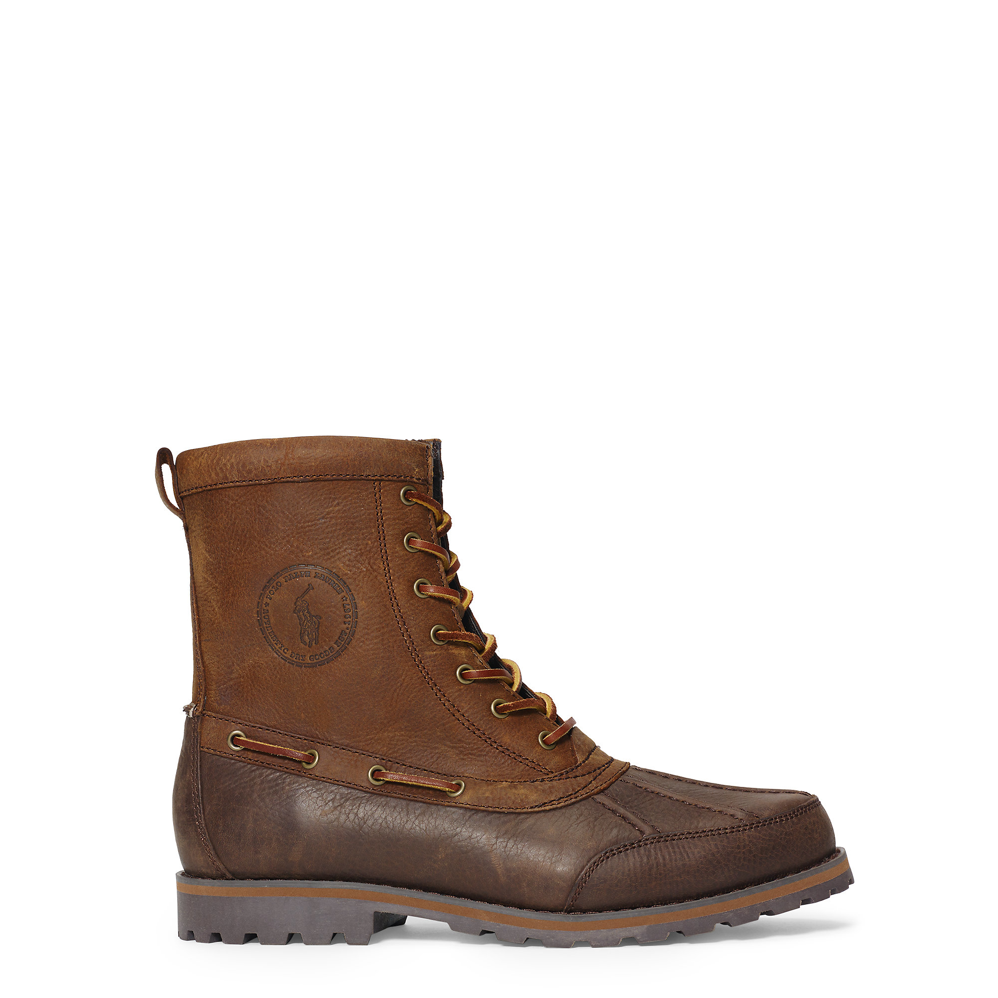 Polo ralph lauren Whitsand Leather Boot in Brown for Men | Lyst