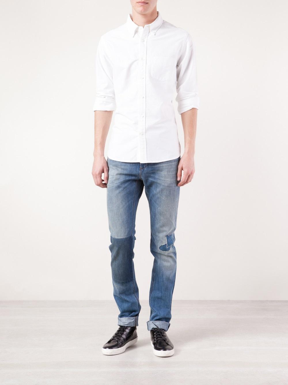 lyst closed cooper jeans in blue for men. Black Bedroom Furniture Sets. Home Design Ideas