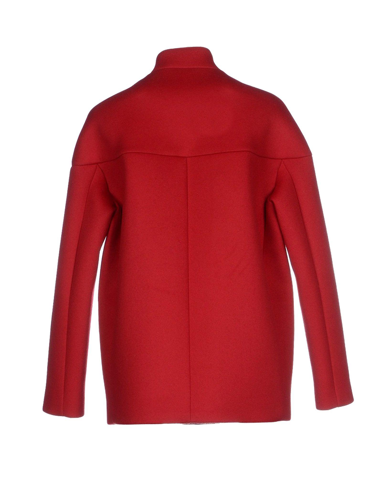 Lyst Adele Fado Coat In Red