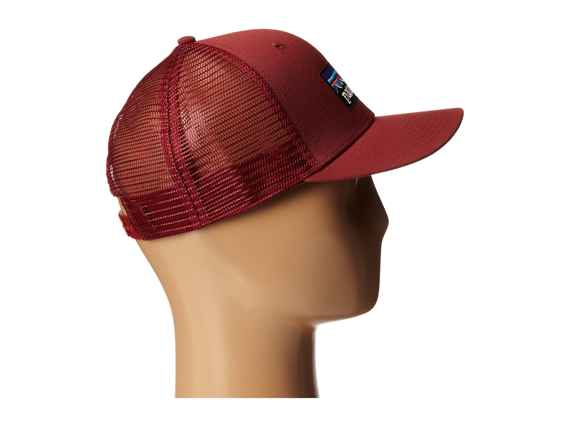 Lyst - Patagonia P6 Trucker Hat in Red for Men dd64aff23754