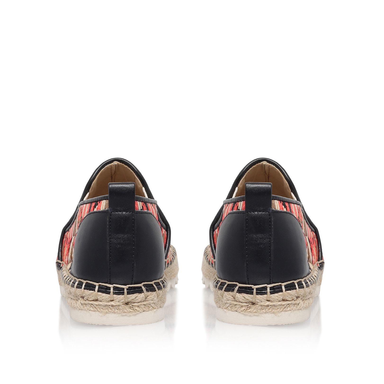 Nine West Synthetic Noney2 Flat Espadrille Sneakers in Black