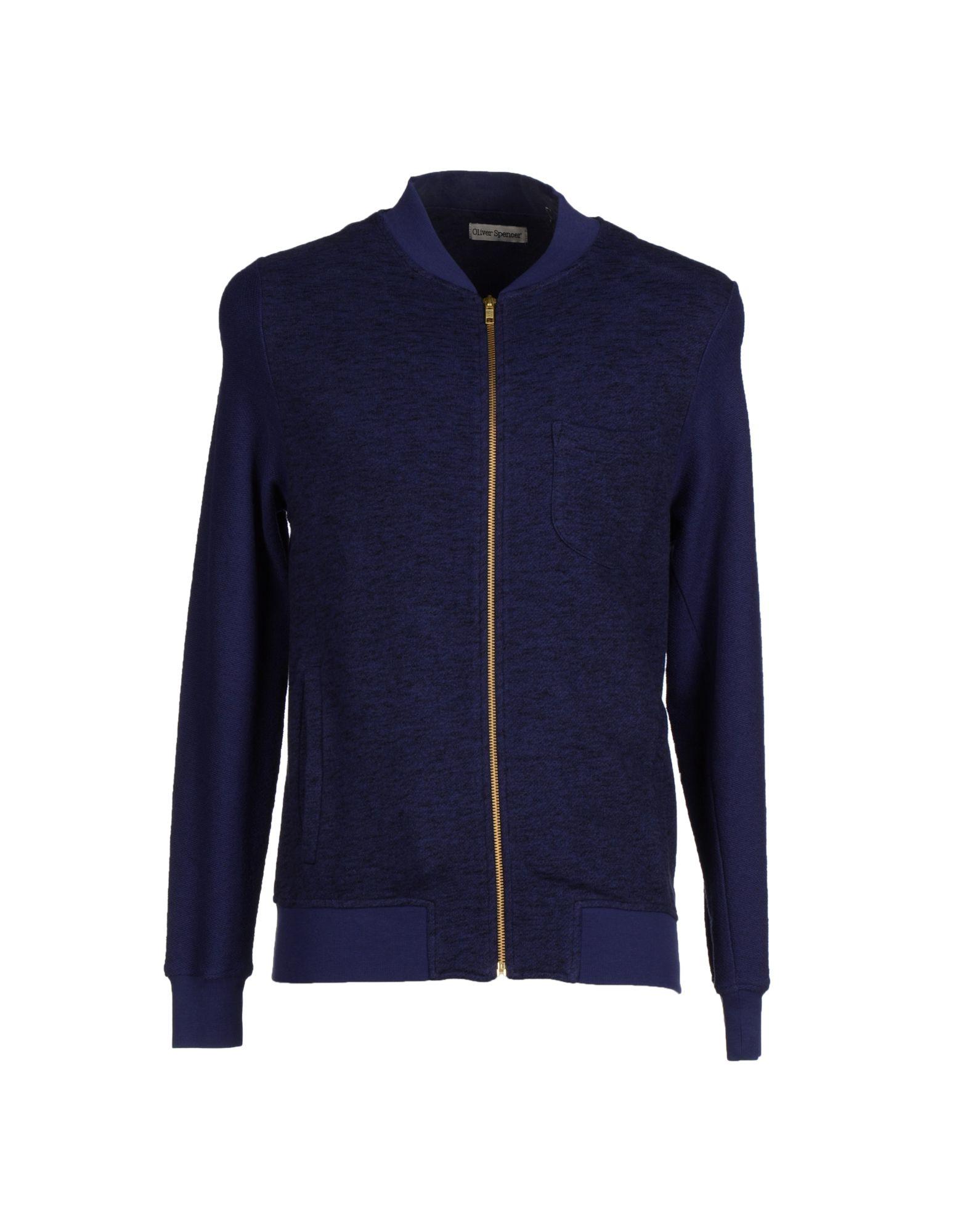 oliver spencer sweatshirt in blue for men lyst. Black Bedroom Furniture Sets. Home Design Ideas