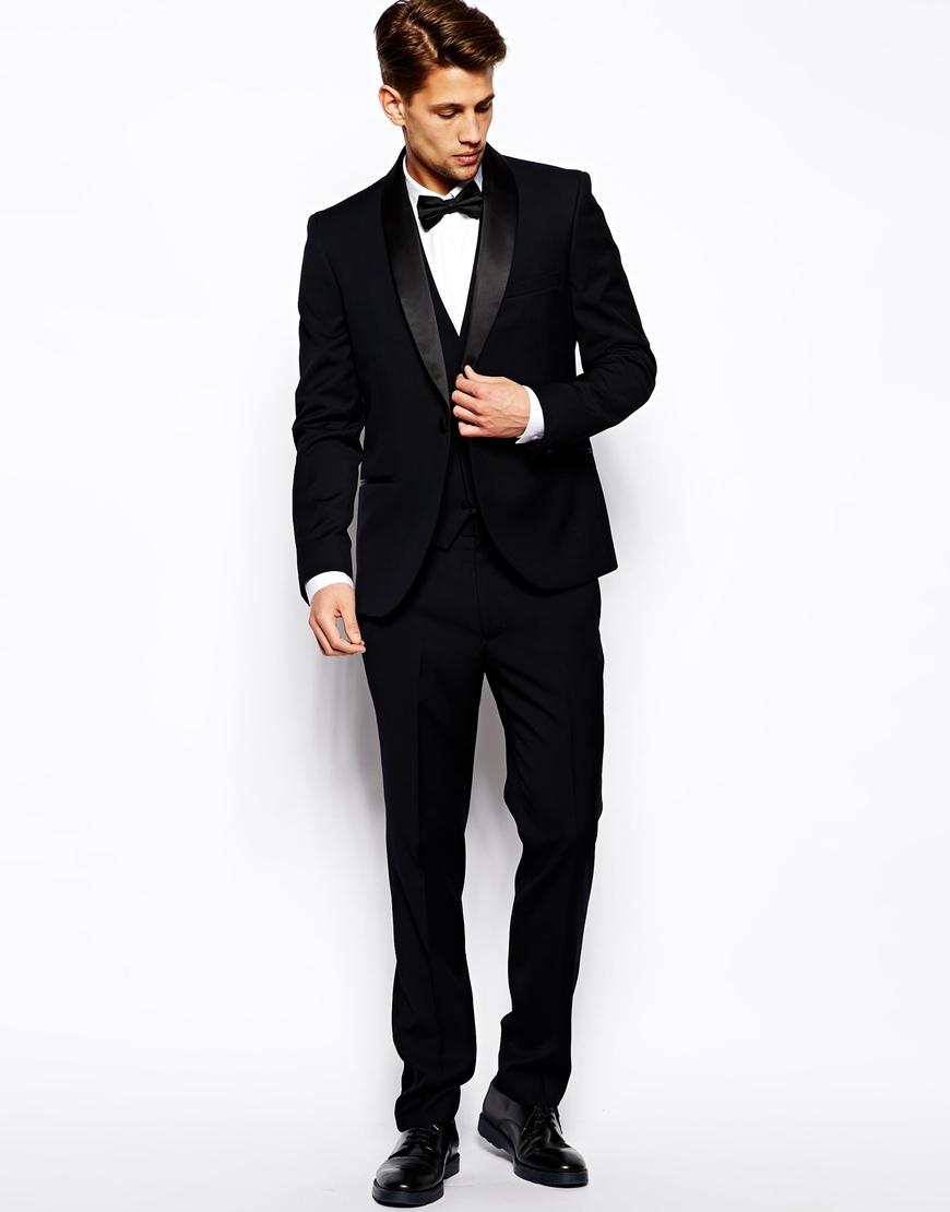ec7477a62 French Connection Blue Slim Fit Suit Tuxedo Trouser for men