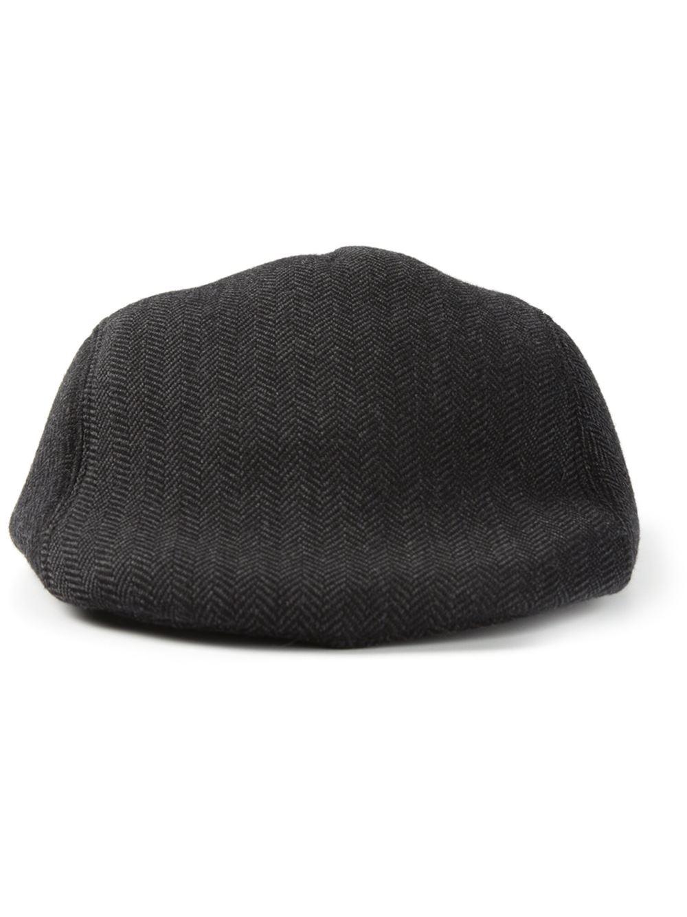 fee00c12f Paul Smith Flat Cap in Gray for Men - Lyst