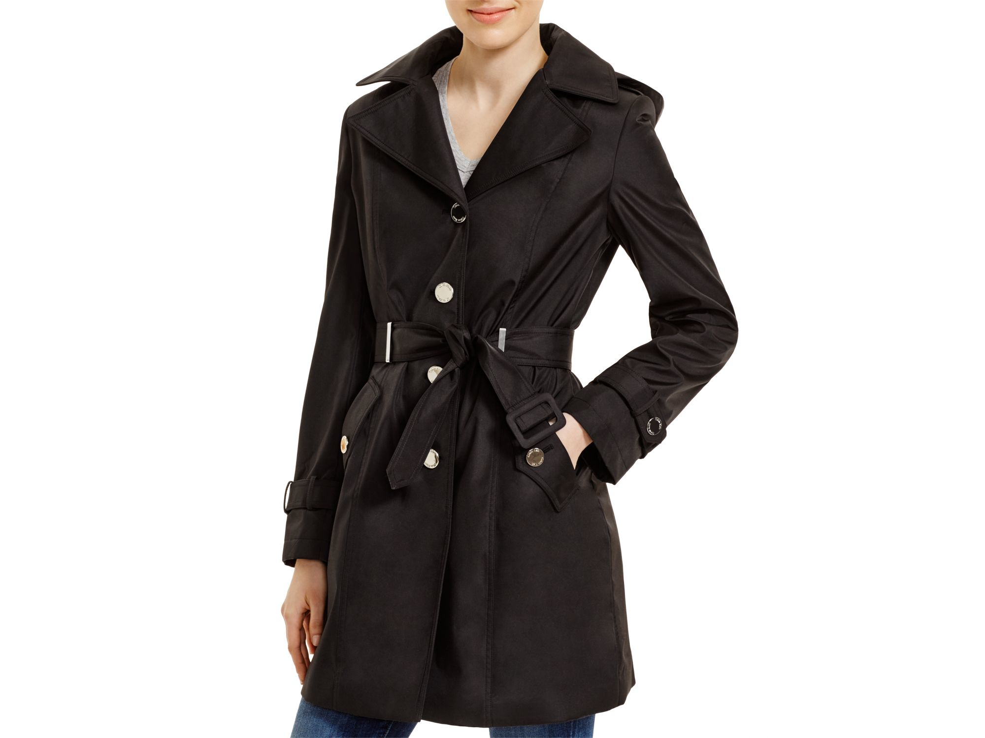 black trench coat with hood - photo #40