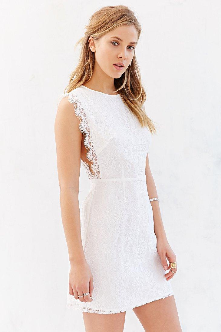 Lace Dresses Tops