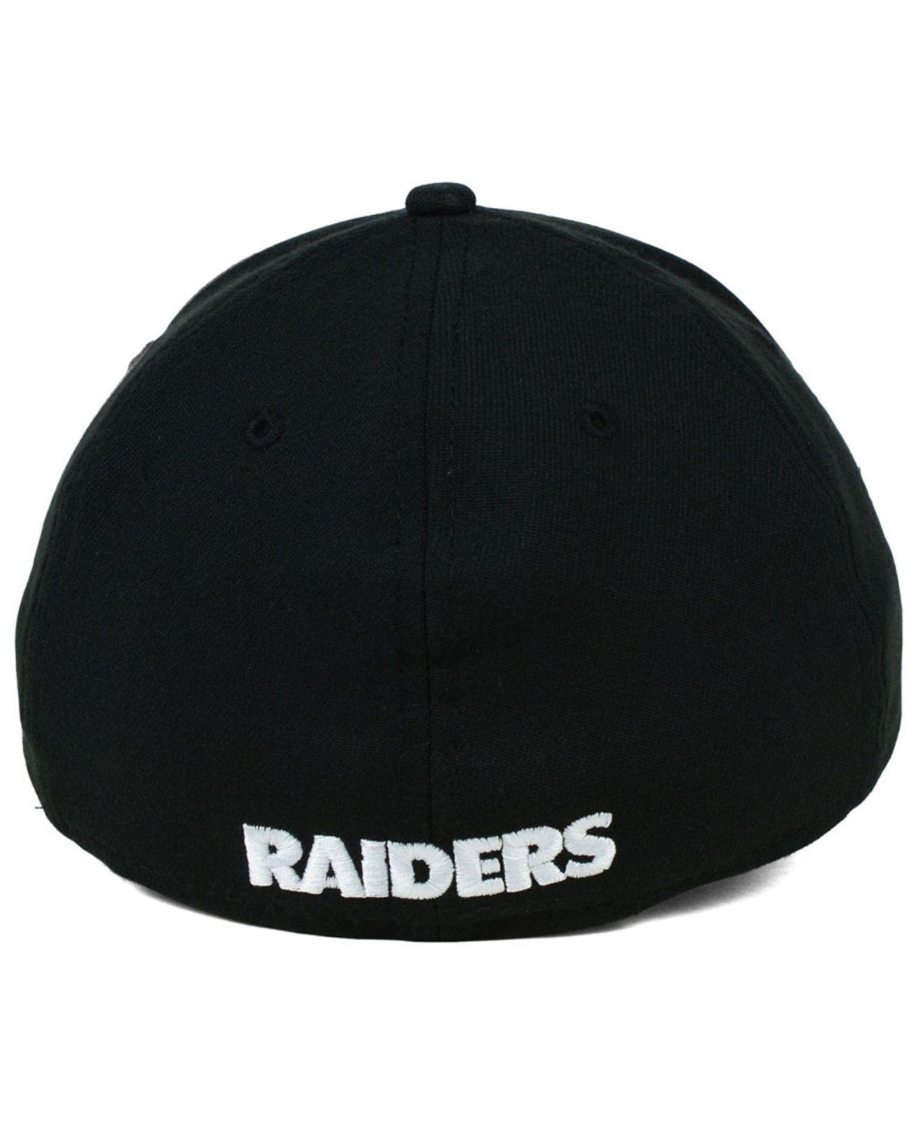 37940068787 ... discount lyst ktz oakland raiders 2015 nfl draft 39thirty cap in black  for men 9769c a656c