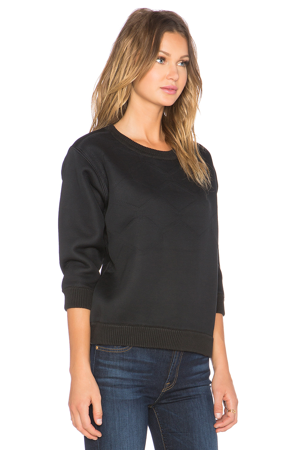 g star raw claro sweater in black lyst. Black Bedroom Furniture Sets. Home Design Ideas