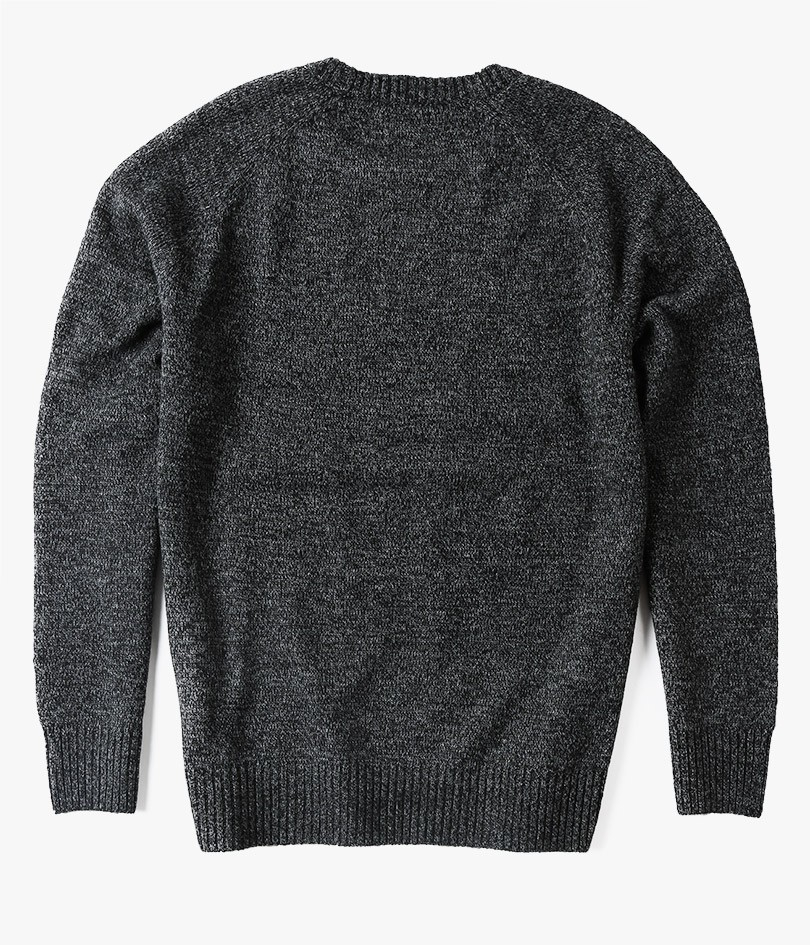 Obey Check Point Sweater in Gray for Men | Lyst